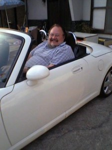 Better fit Maybe I'll fit better in a little car like this if I park it on the far side of the parking lot everytime.