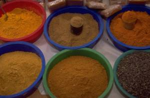 Spices I love to savor and spices allow for all sorts of interesting experiences.
