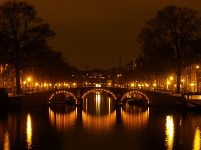 The canals at night are just so beautiful.