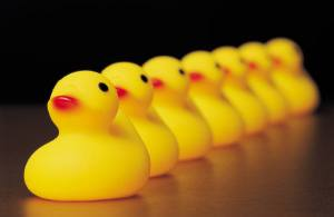 Sometimes getting all the ducks in a row  becomes more impotant then slowing down and breathing.  This is changing