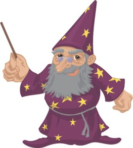 There I am with my wand  Ready to do some magic