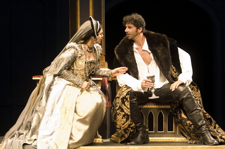 Vilma Silva was wonderful as Cathereine    and the new guy Elija Alexander was great as Henry VIII